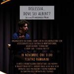 """L'atteso spettacolo """"Dislessia…dove sei Albert?"""" al teatro Ramarini"""